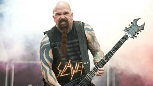 According to his wife, Kerry King will stay in music after the end of Slayer