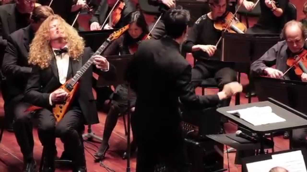 Back In Time: Dave Mustaine plays with San Diego Symphony