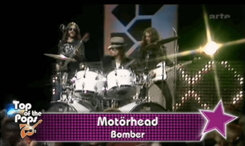 Back In Time: Motörhead performs Bomber on Top Of The Pops