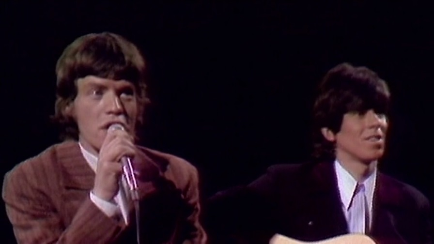 Back In Time; Rolling Stones performs Gimme Shelter on Ed Sullivan