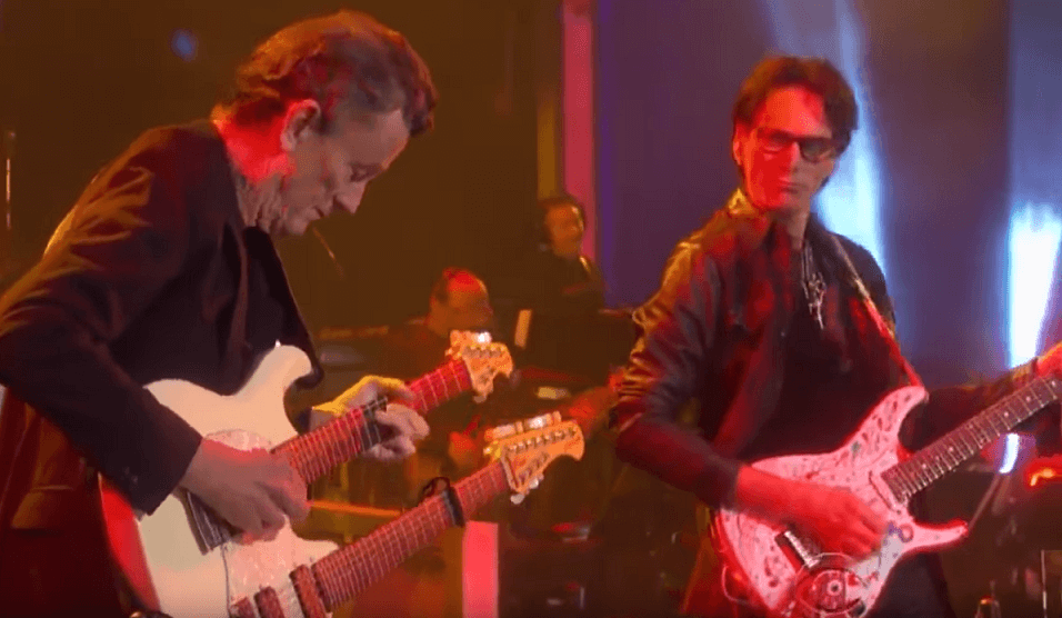 Back In Time: Steve Vai performs Eagles' Hotel California