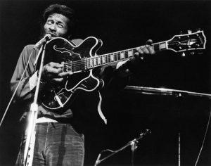 Chuck Berry guitar gun