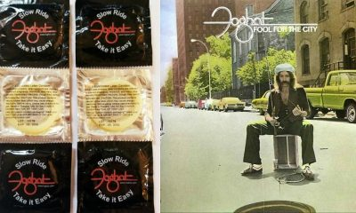 "Classic rock band Foghat launches ""Slow Ride"" condoms"
