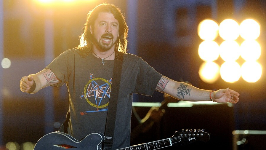 Dave Grohl slayer shirt