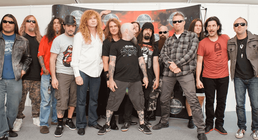 Dave Mustaine wants Big 4 shows before Slayer finishes