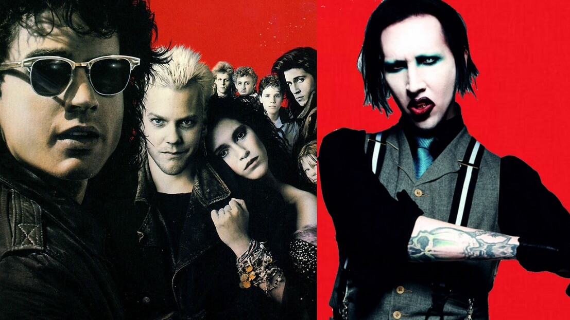 "Hear Marilyn Manson's version for ""The Lost Boys"" track Cry Little Sister"""