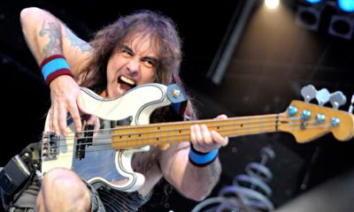 Hear Steve Harris' isolated bass track on Powerslave