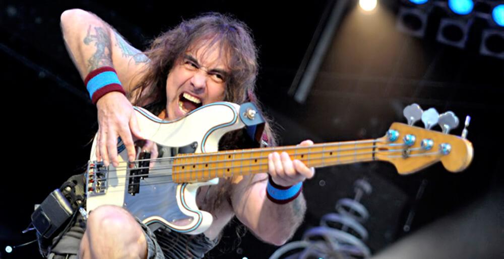 Hear Steve Harris' isolated bass track on Powerslave