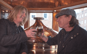 Joe Elliot and Brian Johnson