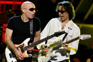 Joe Satriani and Steve Vai