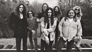 Lynyrd Skynyrd black and white