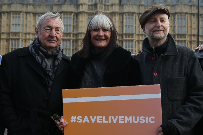 McCartney and Nick Mason mobilize against closure of showrooms