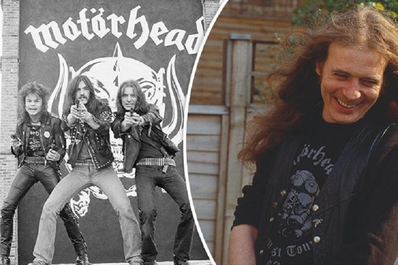 Motorhead and Fast Eddie Clarke