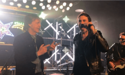 "Paul McCartney plays ""Helter Skelter"" with Muse members"