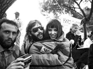 Ringo & Maureen with Maurice Gibb in Monaco