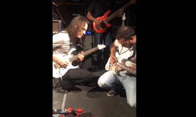 Steve Vai and fan
