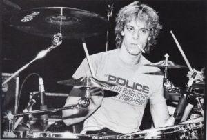 Stewart Copeland young