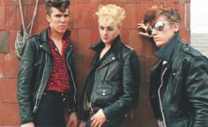 Stray Cats young