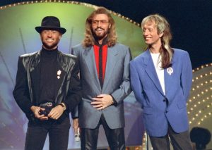 The brothers Gibb from Bee Gees