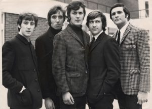 The moody blues black and white