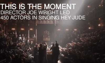 Watch Gary Oldman and all Darkest Hour set singing Hey Jude