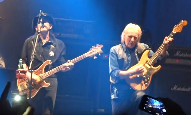 Watch the last time Lemmy, Eddie and Phil played Ace Of Spades together