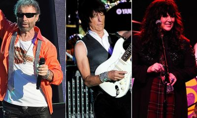 paul Rodgers, Jeff Beck and Ann Wilson