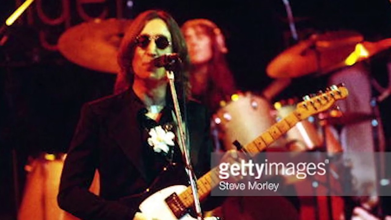 Back In Time: Elton John and John Lennon performing I Saw He Standing There