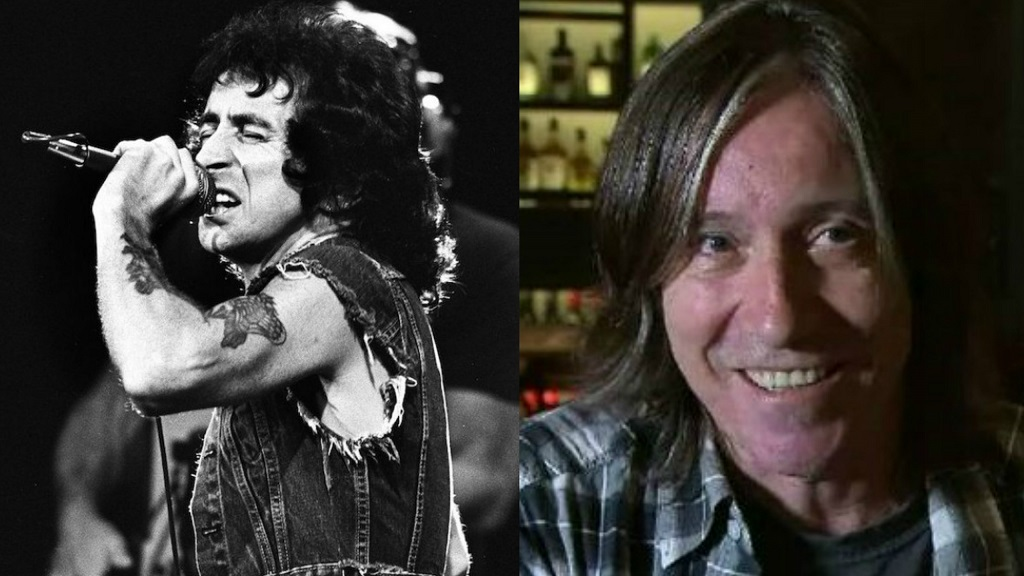 Bon Scott and Son