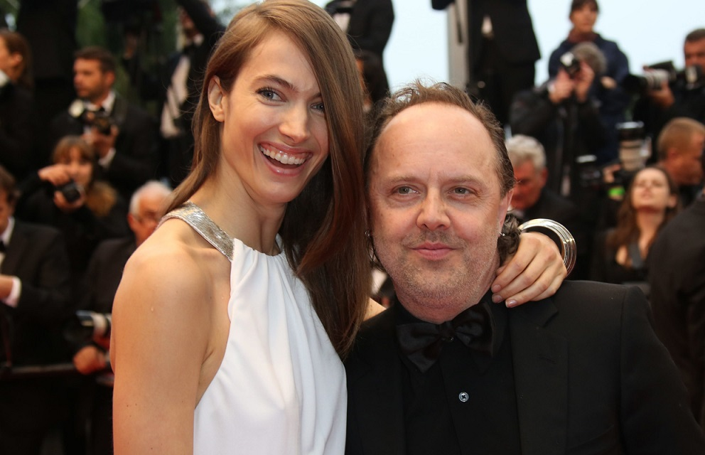 Lars Ulrich and Wife