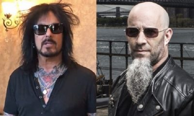 Nikki Sixx and Scott Ian