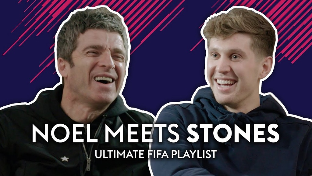 Noel Gallagher and Manchester City player create playlist together