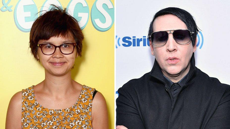 Charlyne Yi and Marylyn Manson