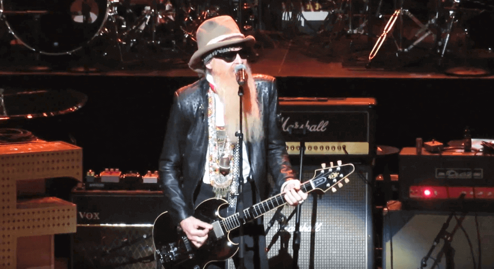 Billy Gibbons in Love Rocks NYC 2018