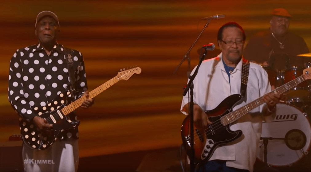 Watch Buddy Guy performing Jimi Hendrix cover on Jimmy Kimmel