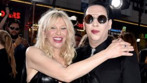 Courtney Love and Marilyn Manson