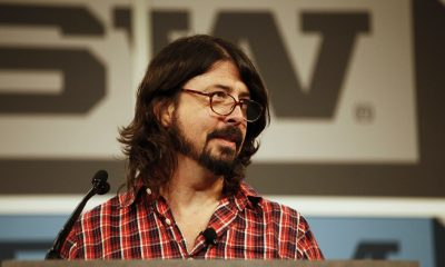 Dave Grohl talking about