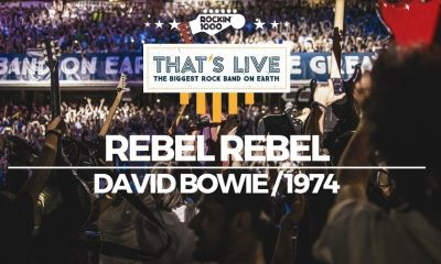 David Bowie Rebel Rebel rockin 1000