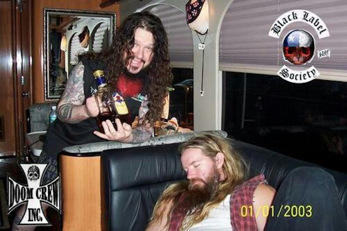 Dimebag Darrell and Zakk Wylde