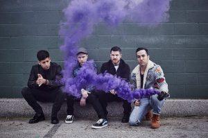 Fall Out Boy purple smoke
