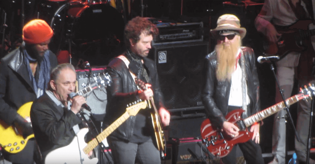 Gary Clark Jr, Jimmie Vaughan and Billy Gibbons