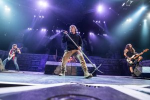 Iron Maiden on the Book Of Souls tour
