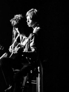 Keith Richards and Mick Jagger lost photo