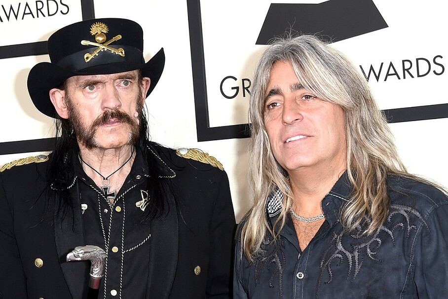 Lemmy Kilmister and Mikkey Dee