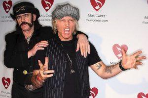 Lemmy Kilmister and Matt Sorum