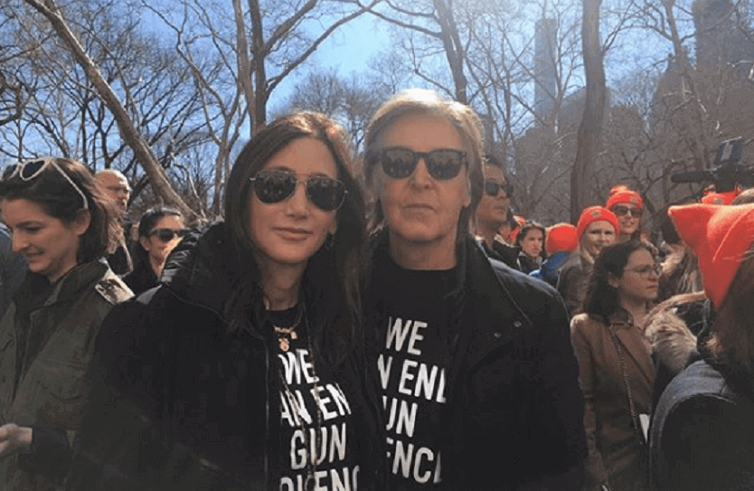 Paul McCartney and wife 2018