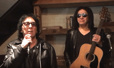 Peter Criss and Gene Simmons 2018