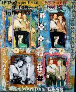 Rob Halford and Andy Warhol