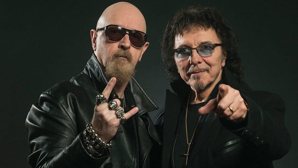 Rob Halford and Tony Iommi