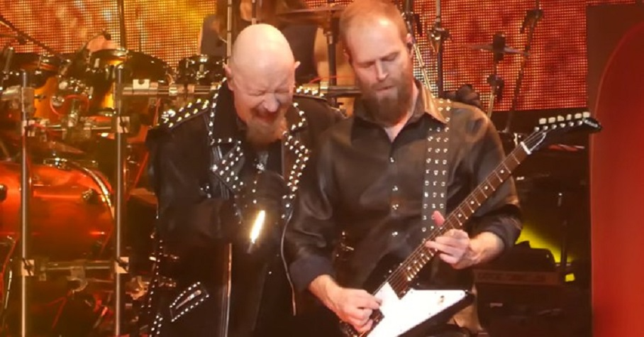 Rob Halford and new guitarist